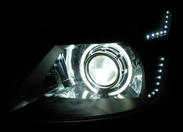 ヘッドライト加工通常プロジェクター移植