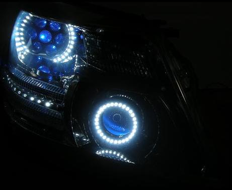 ヘッドライト加工バルカン・ミニバルカンプロジェクター移植
